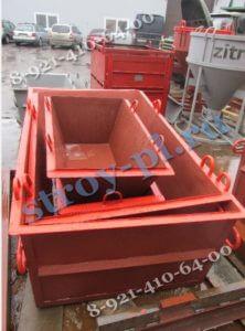 Ящик для бетонного раствора