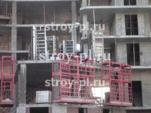 Навесные площадки в монолитном строительстве