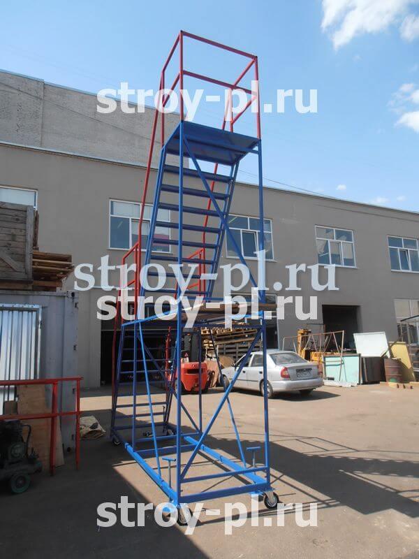лестницы для склада купить в санкт-петербурге