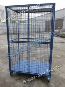 шкаф сетчатый шсм 2 с металлическим дном