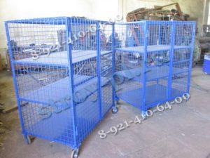 Шкафы на колесах для склада