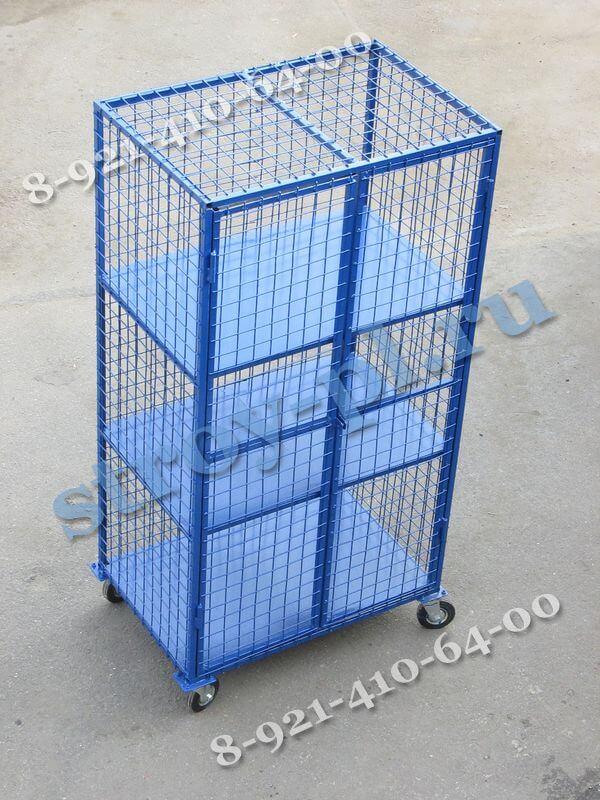 Шкаф сетчатый для склада