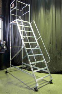 Лестница передвижная ЛСА