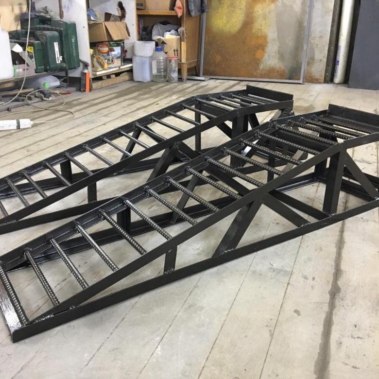 рампа для ремонтных работ в гараже купить