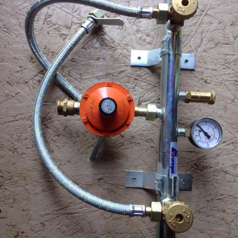 Рампа газовая для баллонов