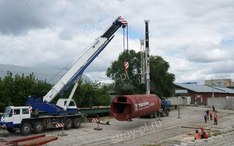 промышленные резервуары вертикальные