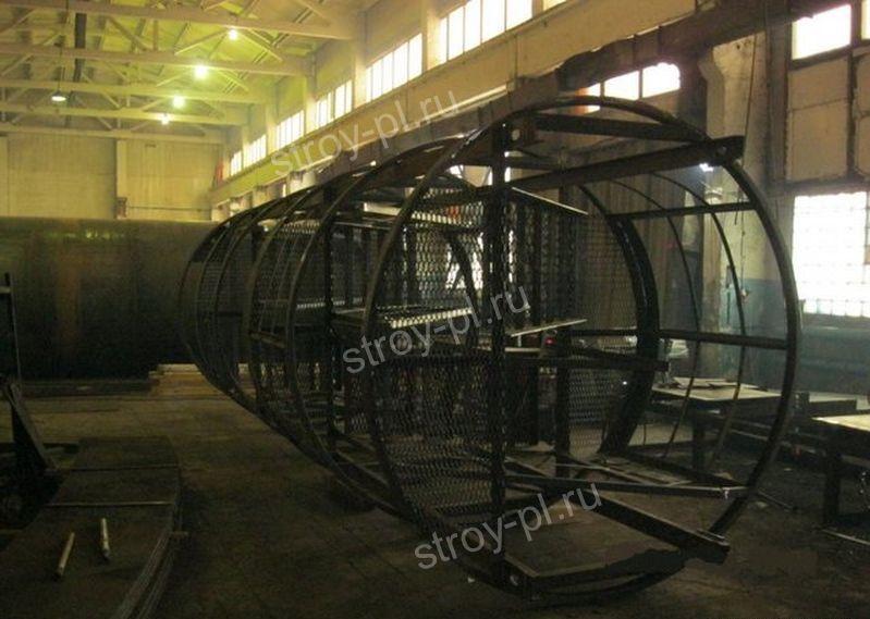емкости стальные цилиндрические вертикальные
