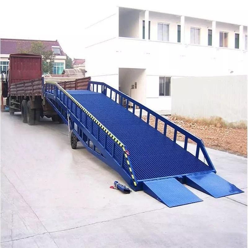 мост подкатной для въезда погрузчика