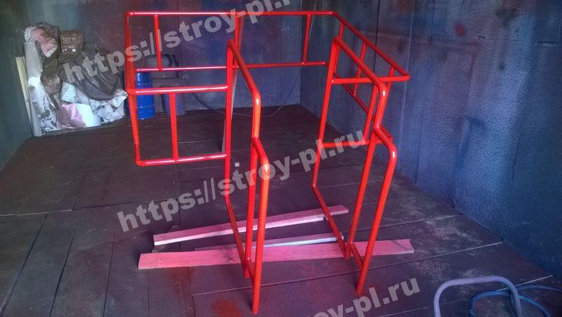 лестница с площадкой для сбора проб в цементовозах купить