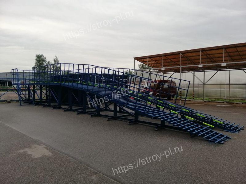 техническая эстакада для грузовиков купить