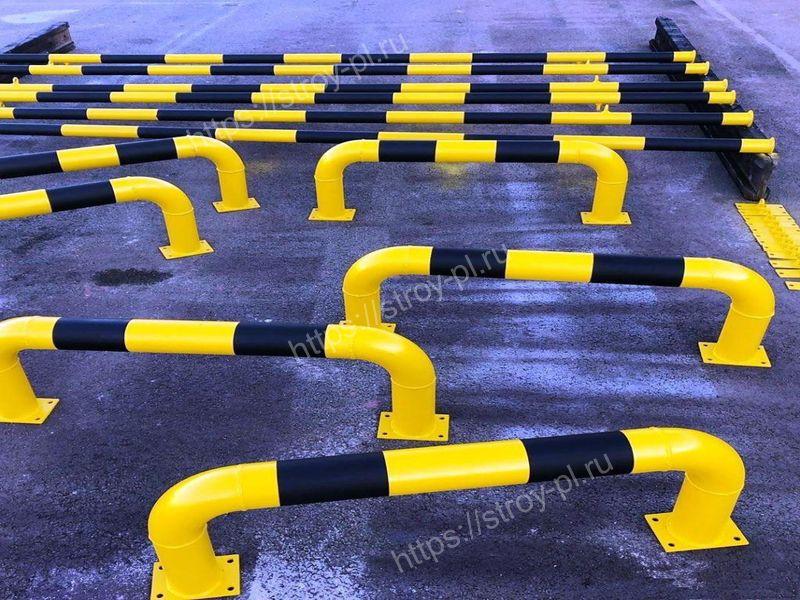 колёсоотбойники для парковки купить в москве