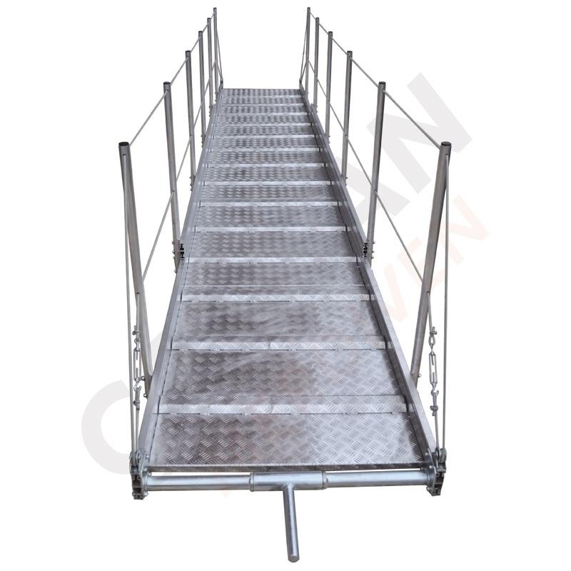лестница-мостик алюминиевая купить