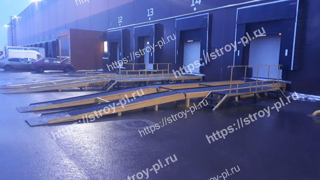 складские эстакады для большегрузов